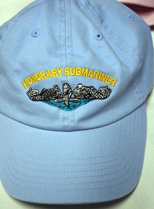 K4K Ballcaps Honorary Submariner
