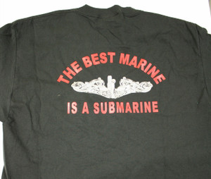 Best Marine T-shirt-black back print