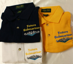 Children's Polo Shirt- Future Submariner