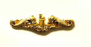 Officer Gold Dolphin Pins-Mini