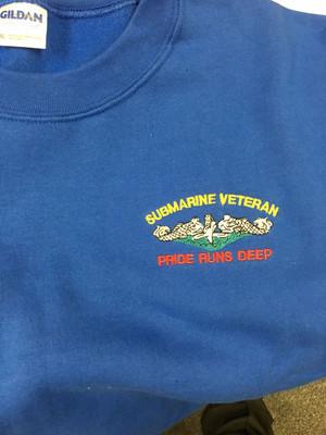 Royal Crew Neck Sweatshirt