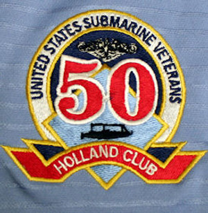 This is a picture of the Holland Club embroidery