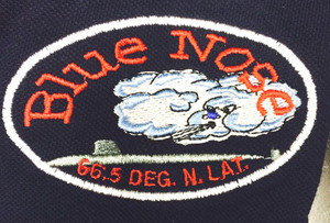 This sweater can be embroidered with the bluenose design (design copyright submarineshop.com)