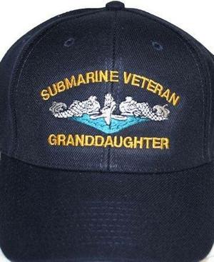 Submarine Granddaughter ballcaps