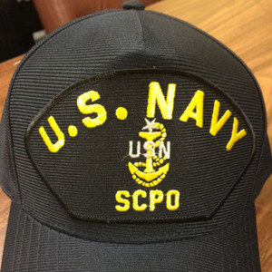 CPO, SENIOR CHIEF PETTY OFFICER BALL CAP EMBLEMATIC