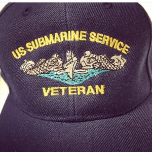 US Submarine Service Veteran Ballcap, Ball cap
