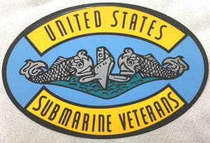 Decal, United States Submarine Veterans logo, USSVI