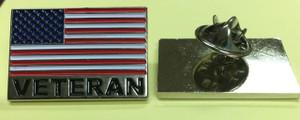 Lapel pin, Veteran Flag Pin.