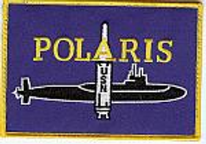Polaris missile patch