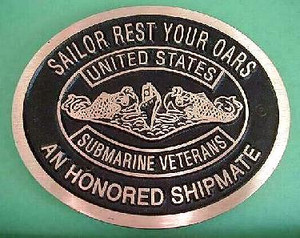 Honored Shipmate Memorial Marker