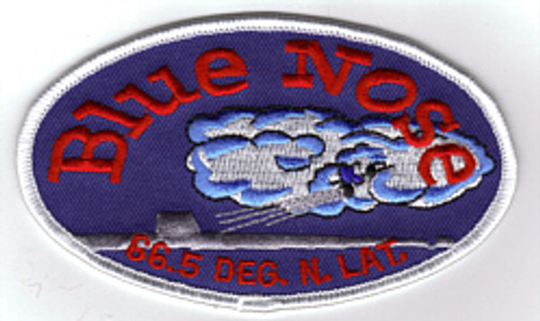 Blue Nose Patch