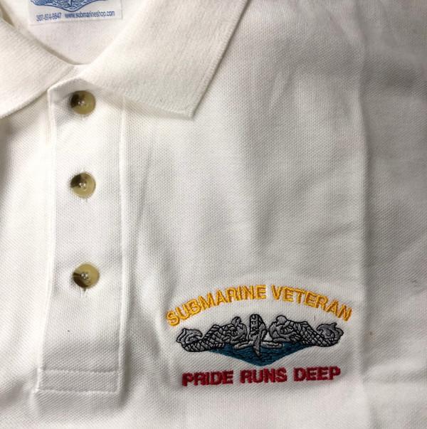 White  Polo Submarine Veteran, Pride runs deep