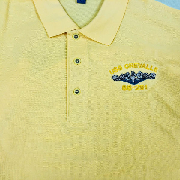 Banana Yellow Polo shirt. We can special order a wide range of colors for your polo shirts. They are special ordered