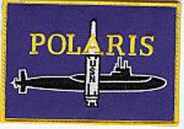 Polaris missile patch