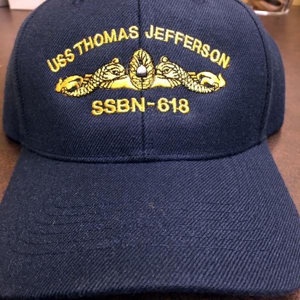 Custom Submarine Embroidery