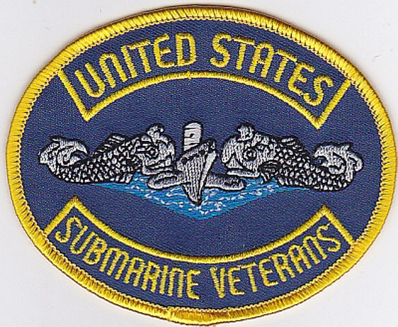 """9"""" USSVI PATCH FOR JACKEST AND VESTS SEW ON"""