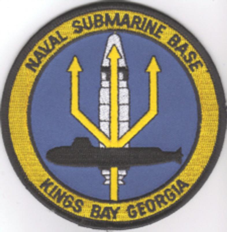 Kings Bay Naval Submarine Base patch
