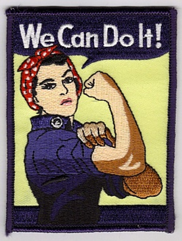 """WWII Poster """"We Can Do It"""""""