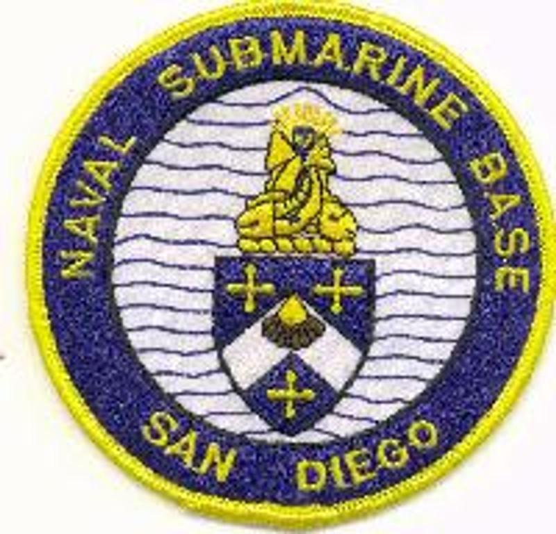 Sub Base San Diego patch