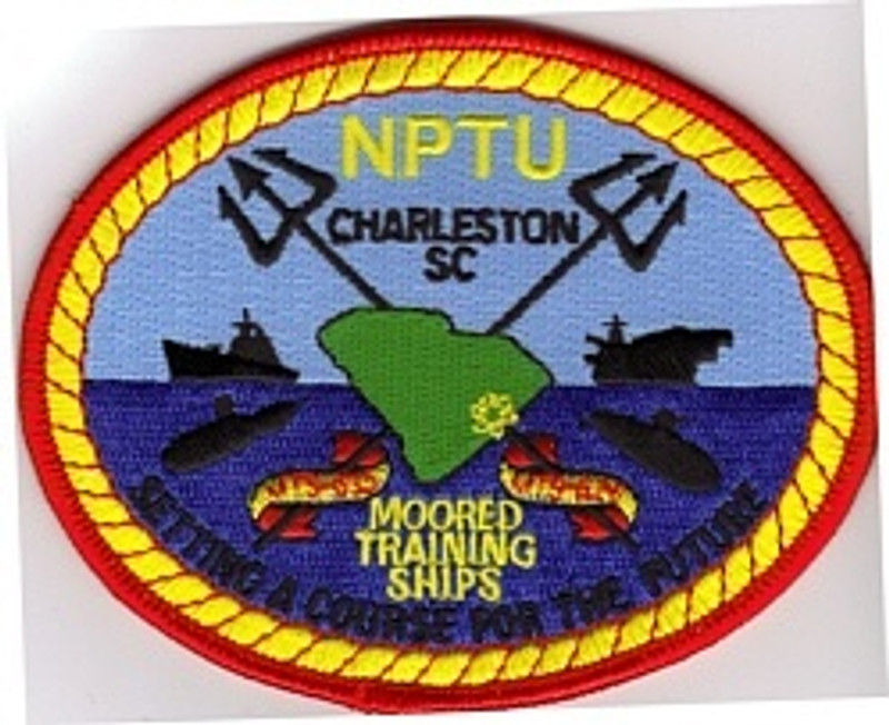 NPTU Charleston Nuclear Power School patch