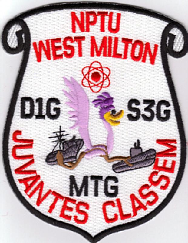 Nuclear Power Training Unit-West Milton  patch