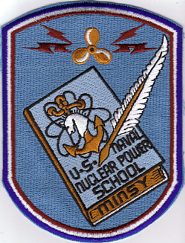Nuclear Power School-Mare Island patch