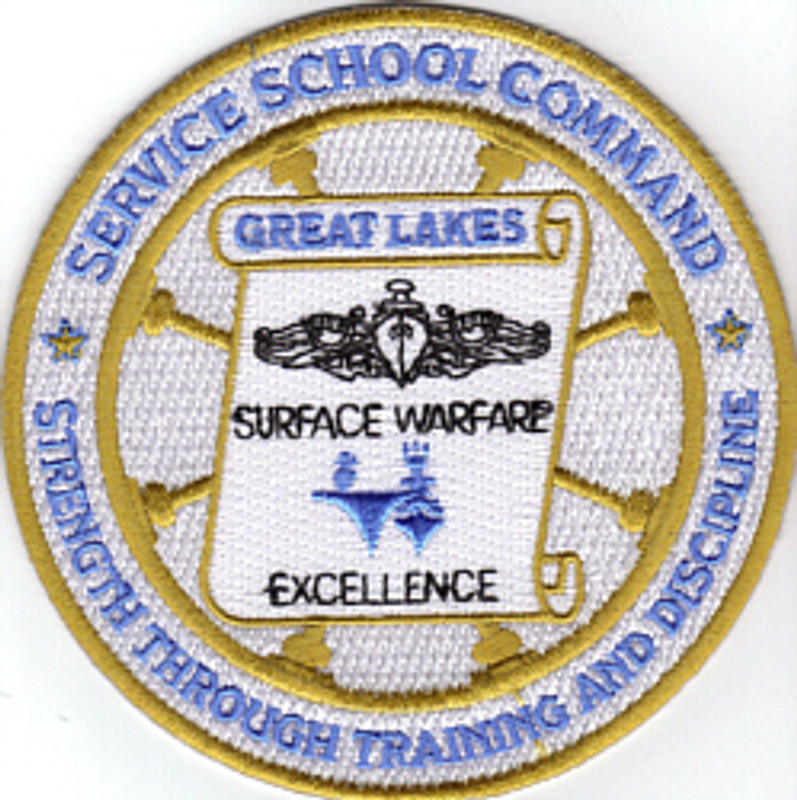 Service School Command-Great Lakes patch
