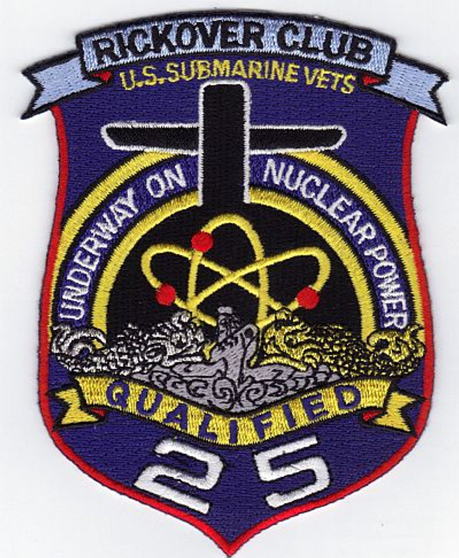 Rickover Club patch