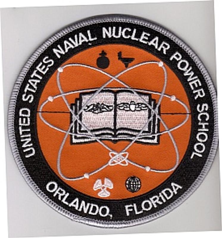 Orlando Nuclear Power School  patch