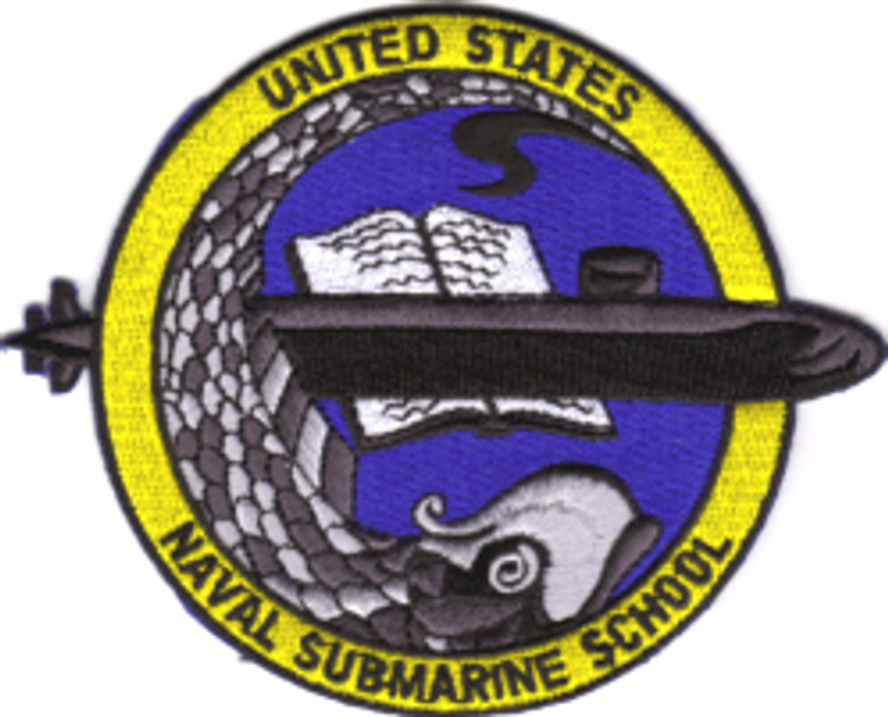 Submarine School Patch