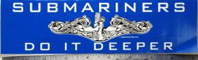 Do It Deeper Bumper Sticker