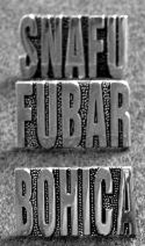 SNAFU, BOHICA, or FUBAR Gold-Toned Pins
