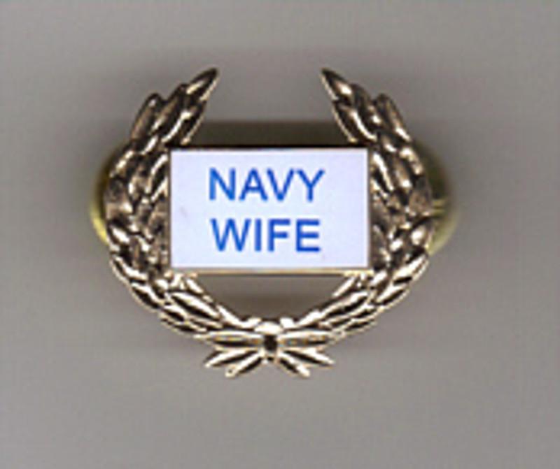 Navy Wife Pin