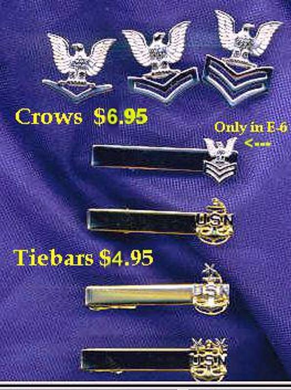 Navy Rank Pins