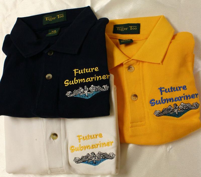Children's Polo Shirt- Future Submariner