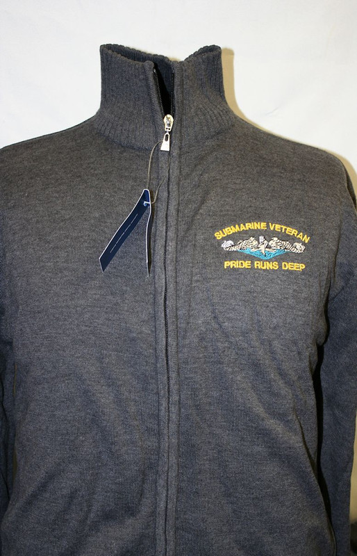 Sweaters--Alpine Full Zipper: Pride Runs Deep
