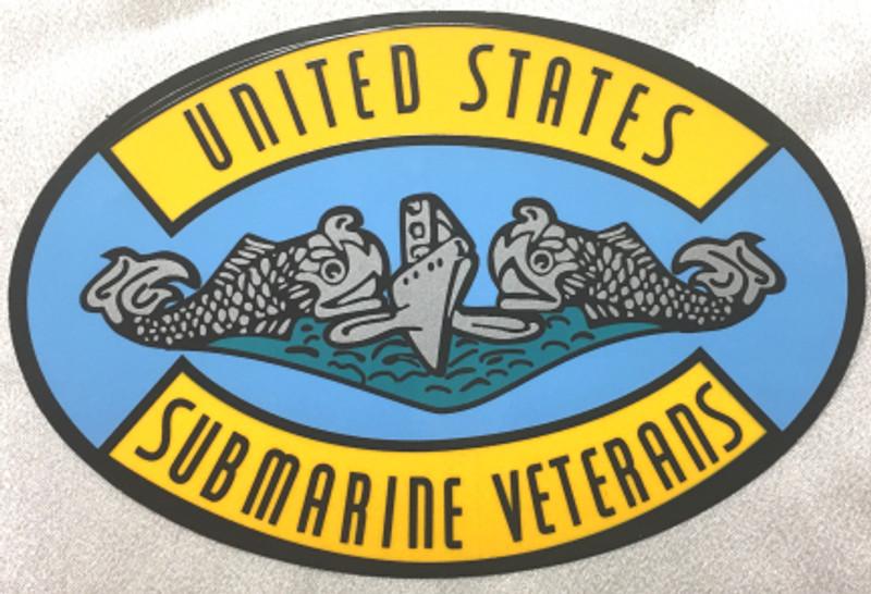 Decal, United States Submarine Veterans logo, USSVI