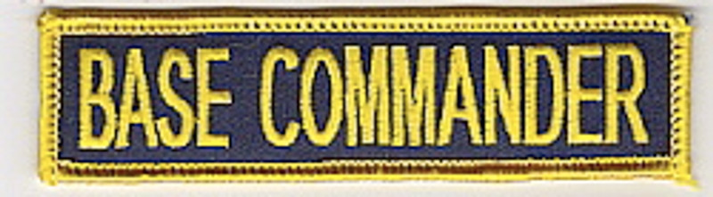 Base Commander patch