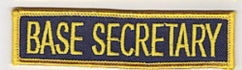 Base Secretary patch