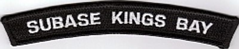 SUBASE KINGS BAY rocker patch