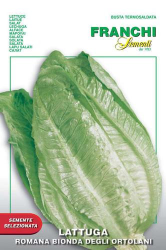Lettuce Romaine Bionda Ortolani (84-4)