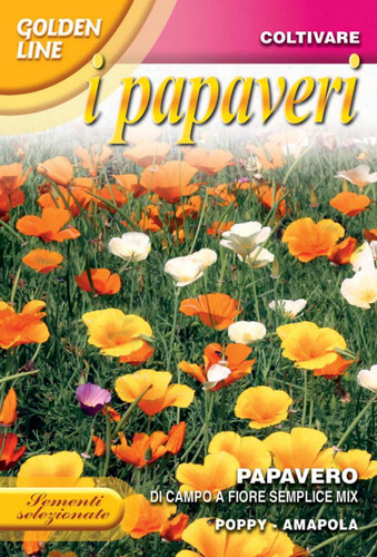 Poppy Wildflower Mix (319-2)