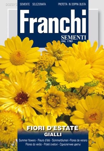 Summer Flowers Mix- Yellow/Gialli (322-5)