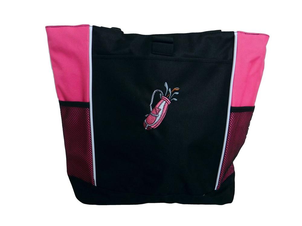 Golf Golfing PINK Tote Bag No Personalization