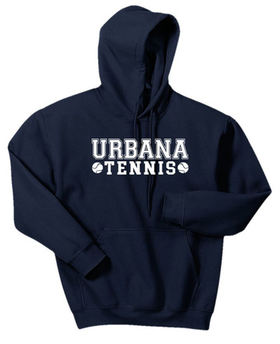 UHS Urbana Hawks TENNIS Cotton Hoodie Sweatshirt Many Colors Available NAVY