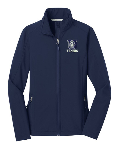 Urbana Hawks Softshell UHS TENNIS Jacket UNISEX MENS, WOMENS & YOUTH SIZES Color DRESS BLUE NAVY LADIES