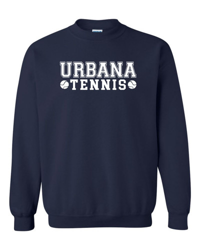 UHS Urbana Hawks TENNIS Cotton Crewneck Sweatshirt Many Colors Available NAVY
