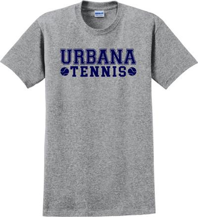 UHS Urbana Hawks TENNIS T-shirt Cotton LADIES Many Colors Available SPORT GREY