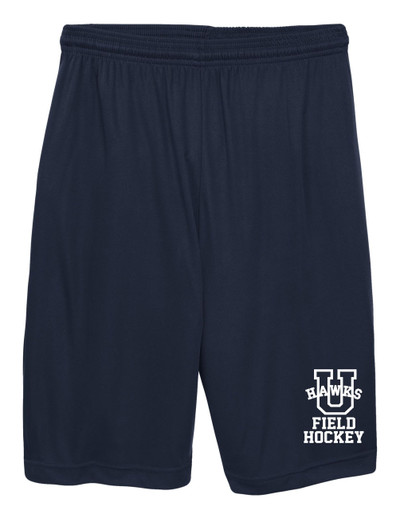 URBANA HAWKS Shorts Performance with Pockets ADULT & YOUTH FIELD HOCKEY NAVY