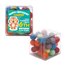 Baby Tiger Birthday Sweet Cubes
